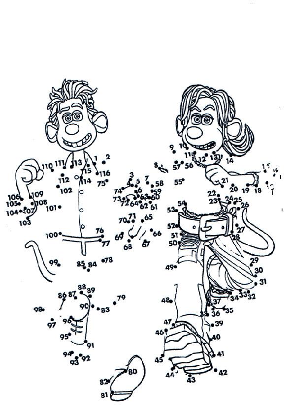 Zeichnen nach Zahlen 31