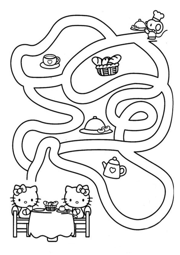 Ausmalbilder-Labyrinthe-2