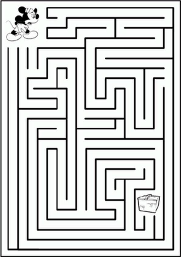 Ausmalbilder-Labyrinthe-3