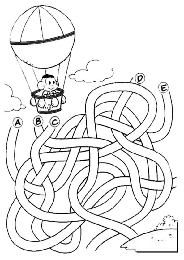 Ausmalbilder-Labyrinthe-4
