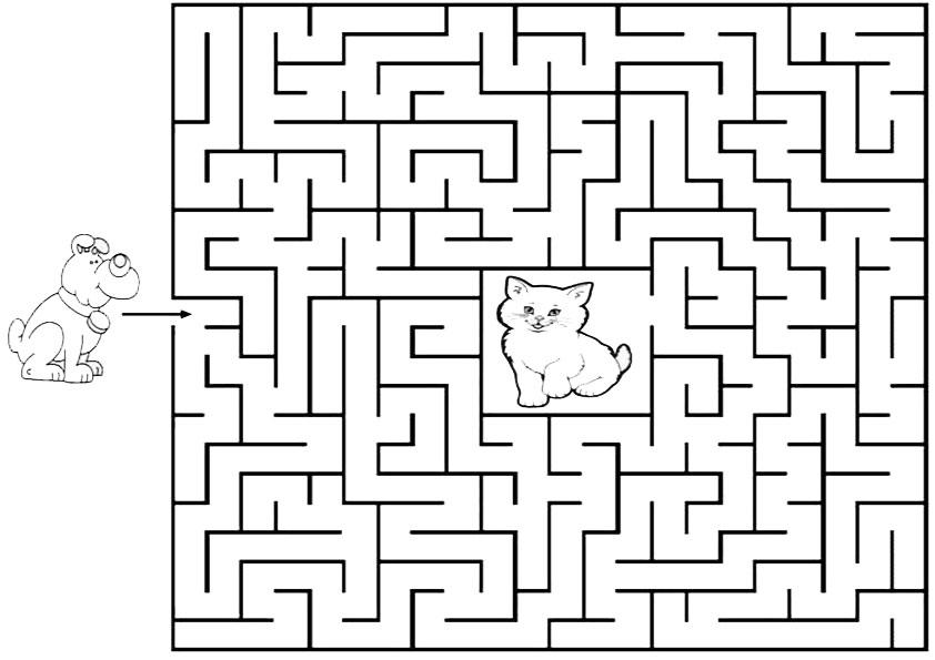 Ausmalbilder-Labyrinthe-5