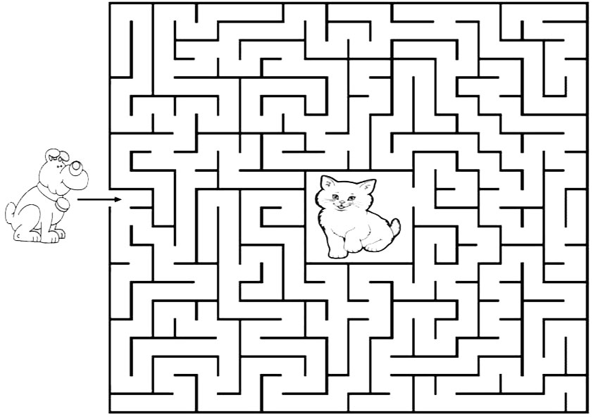 labyrinthe2  malen nach zahlen
