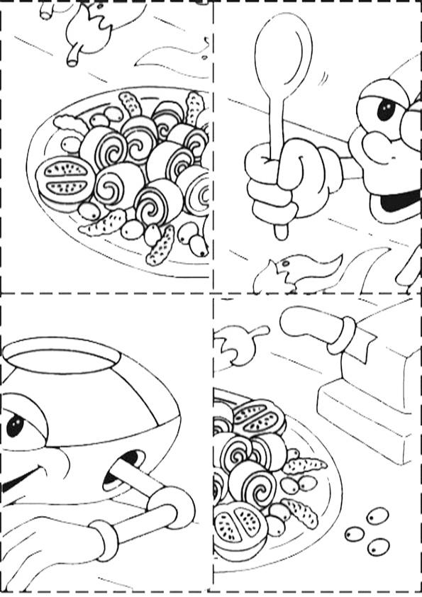 Ausmalbilde Puzzlespiele-10