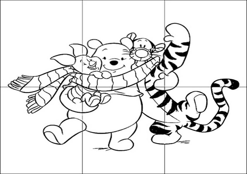 Ausmalbilde Puzzlespiele-12