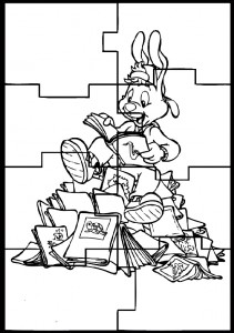 Ausmalbilde Puzzlespiele-24