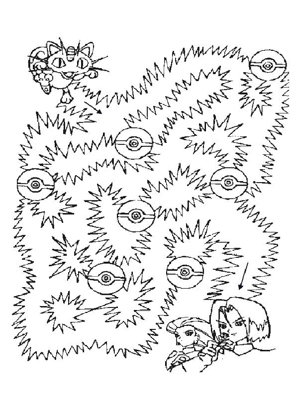 Ausmalbilde Labyrinthe-13