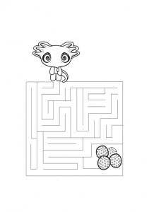 Ausmalbilde Labyrinthe-14