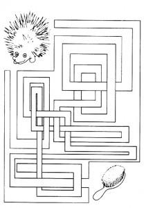 Ausmalbilde Labyrinthe-20