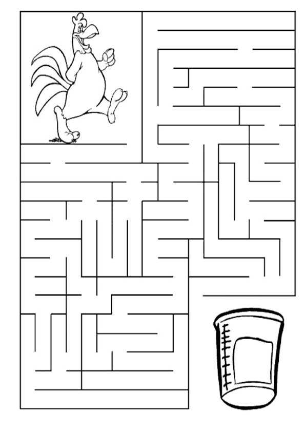 Ausmalbilde-Labyrinthe-25