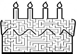 Ausmalbilde Labyrinthe-29