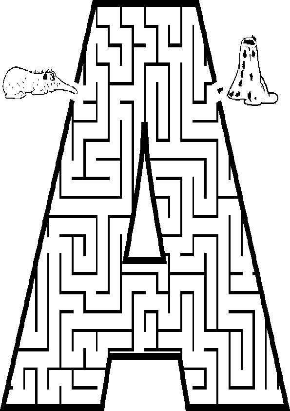 Ausmalbilde-Labyrinthe-30