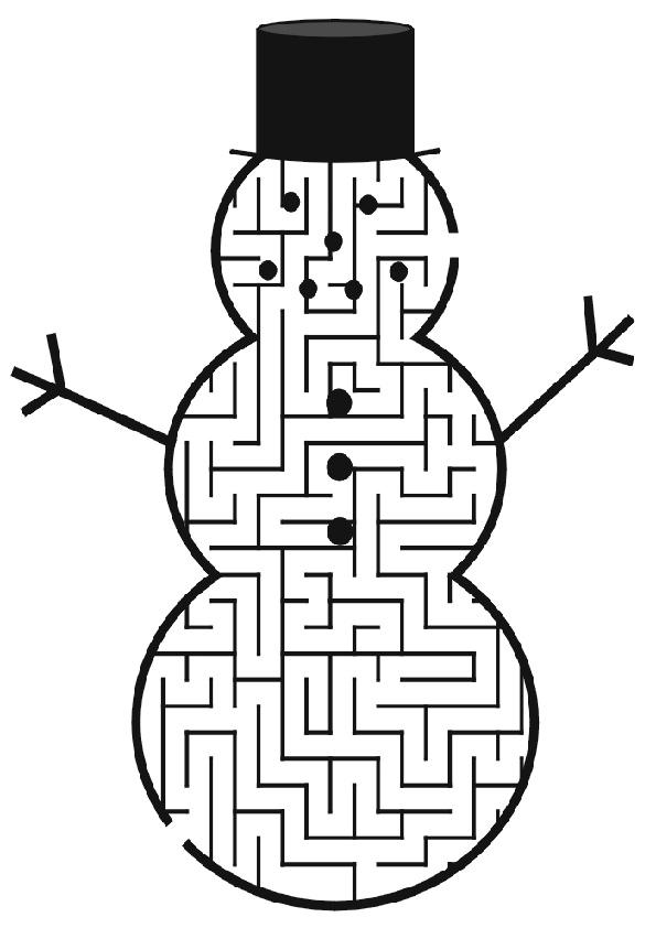 Ausmalbilde  Labyrinthe-31