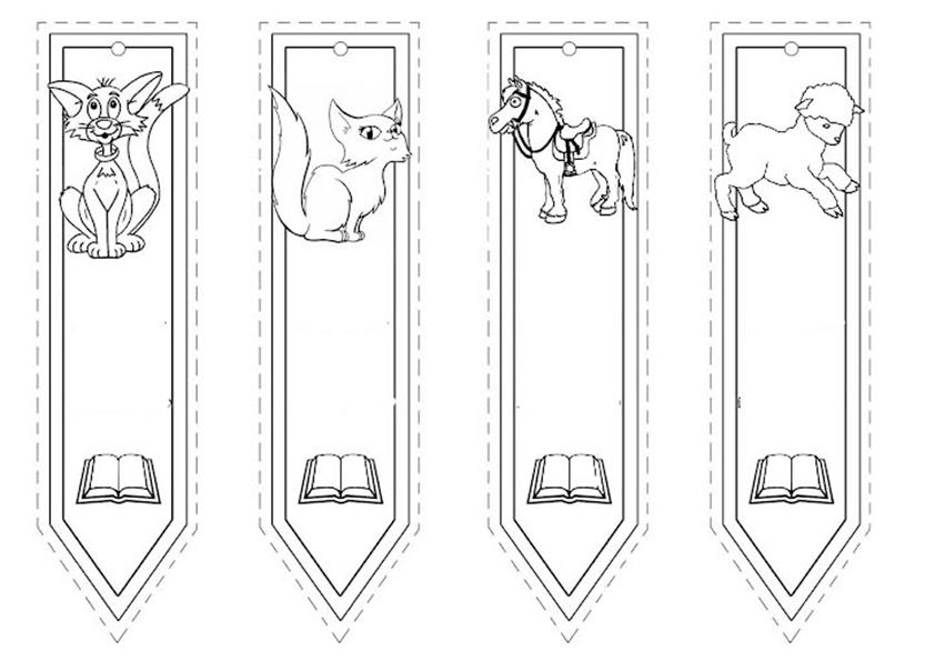 ausmalbilder bookmarks-7