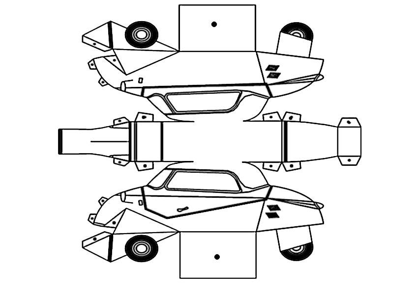 ausmalbilder ausschneiden auto-1