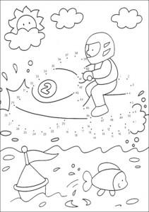 ausmalbilder zeichnen nach zahlen- 72