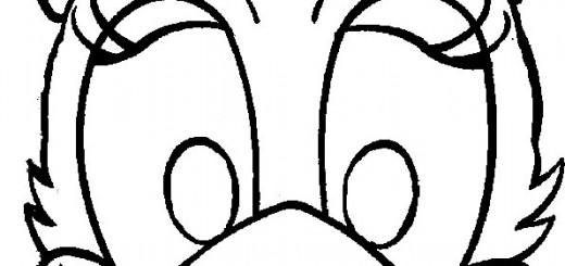 ausmalbilder masken-11