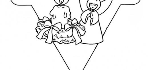 malen nach zahlen weihnachten, ausmalbilder weihnachten-10