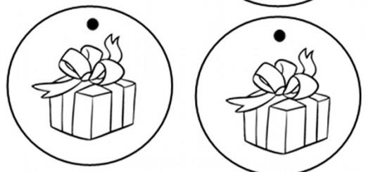 malen nach zahlen weihnachten, ausmalbilder weihnachten-9